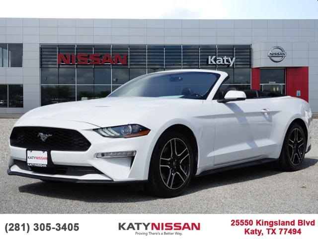 Pre Owned 2018 Ford Mustang Ecoboost Premium Rwd 2d Convertible